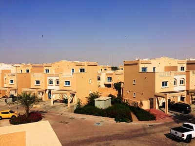 2 Bedroom Villa for Rent in Al Reef, Abu Dhabi - Lowest Price for a Beautiful Mediterranean Style Villa !!