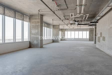 Office for Rent in Motor City, Dubai - Shell and Core   High floor   Best Views