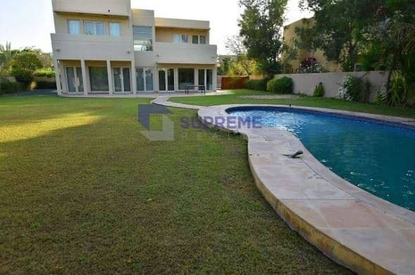 Private Pool I Large size Plot I 5 Bedrooms+Maids