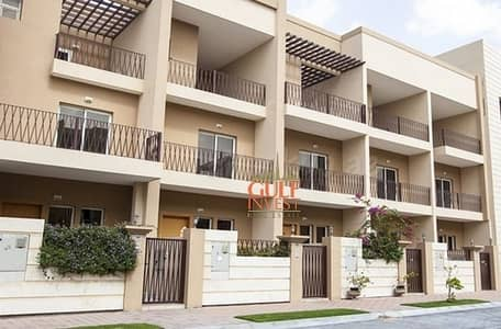 4 Bedroom Townhouse for Rent in Jumeirah Village Circle (JVC), Dubai - Well maintained 4 Bedroom maids room Townhouse in Valencia Park, JVC