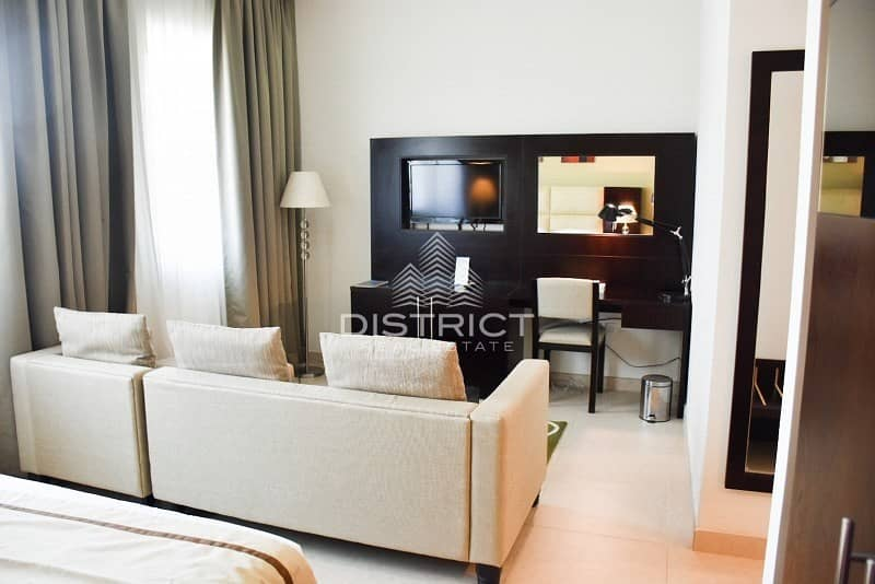 Convenient Studio Hotel Apartment in Mina Rd