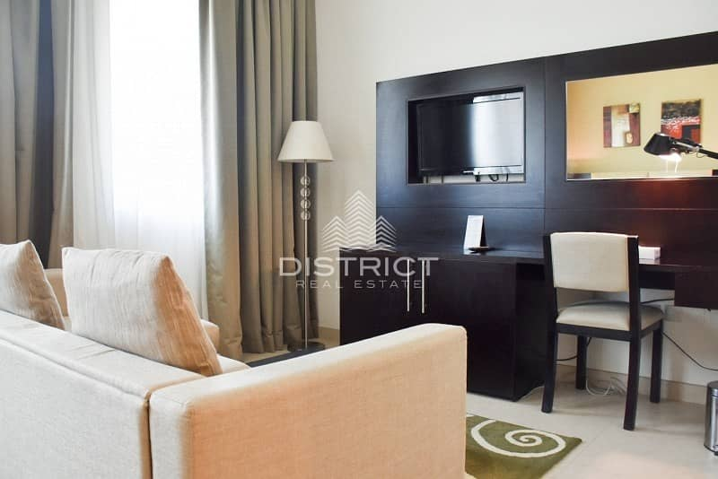 2 Convenient Studio Hotel Apartment in Mina Rd