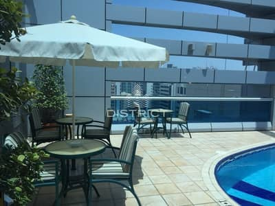 1 Bedroom Hotel Apartment for Rent in Tourist Club Area (TCA), Abu Dhabi - Luxury Fitted 1BR Serviced Apartment in TCA