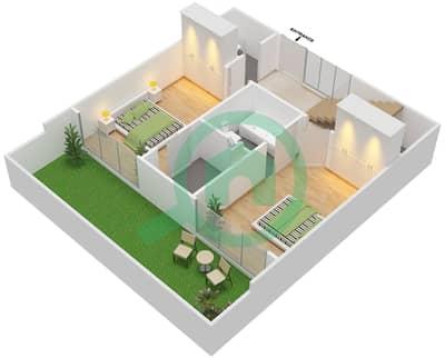 Pacific - 2 Bedroom Apartment Type DULPEX Floor plan