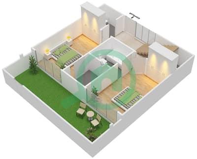 Pacific - 2 Bedroom Apartment Type BEACH DUPLEX Floor plan