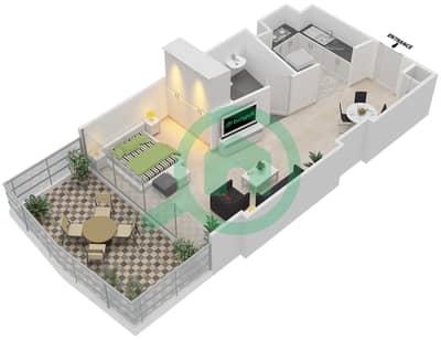 المخططات الطابقية لتصميم النموذج 5,12 شقة  - ذا ميتركس