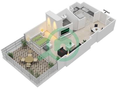 المخططات الطابقية لتصميم النموذج 4,11 شقة  - ذا ميتركس