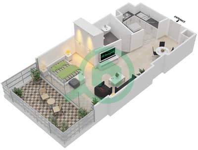 المخططات الطابقية لتصميم النموذج 3,10 شقة  - ذا ميتركس