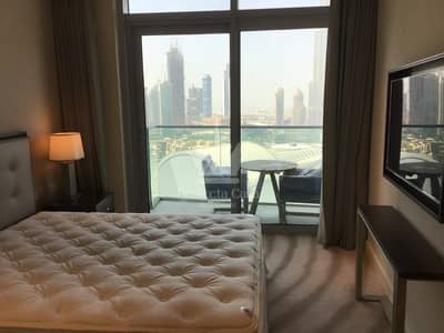 2 Bedroom Apartment for Rent in Downtown Dubai, Dubai - Fully Furnished 2 BR w Study | All Inclusive | Full Burj Khalifa  View
