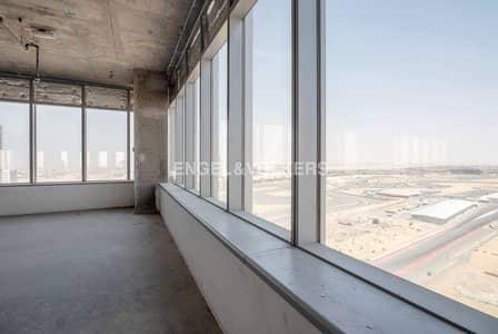 مکتب  للبيع في موتور سيتي، دبي - Shell and Core | High floor | Best Views