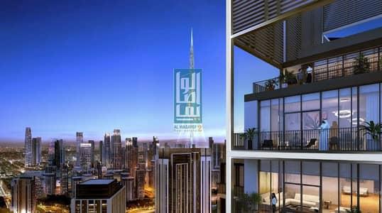 فلیٹ 1 غرفة نوم للبيع في ذا لاجونز، دبي - burj khalifa and creek view with 2 years post handover