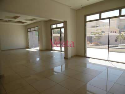 4 Bedroom Villa for Rent in Between Two Bridges (Bain Al Jessrain), Abu Dhabi - Large garden