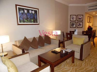 1 Bedroom Hotel Apartment for Rent in Electra Street, Abu Dhabi - Furnished