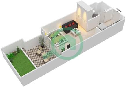 المخططات الطابقية لتصميم النموذج / الوحدة 1A/06 شقة  - شايستا عزيزي