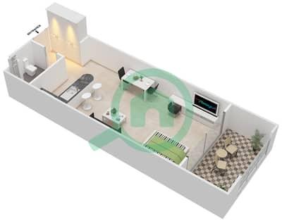 المخططات الطابقية لتصميم النموذج A-ANSAM 4 شقة  - أنسام