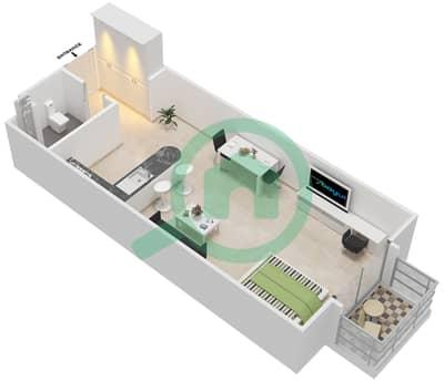 المخططات الطابقية لتصميم النموذج A-ANSAM 2,3 شقة  - أنسام