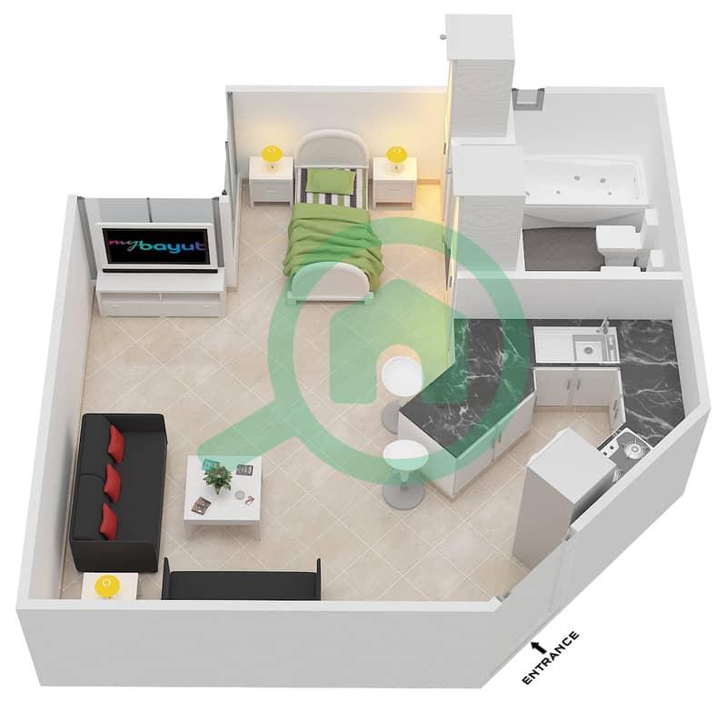 Studio Apartments in Al Thamam 15