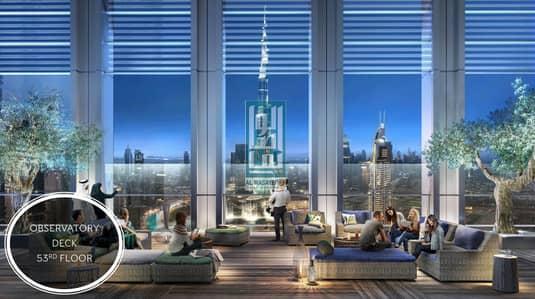 شقة 2 غرفة نوم للبيع في وسط مدينة دبي، دبي - 2-Room Apartment with Panoramic View of Burj Khalifa and Dubai Fountain