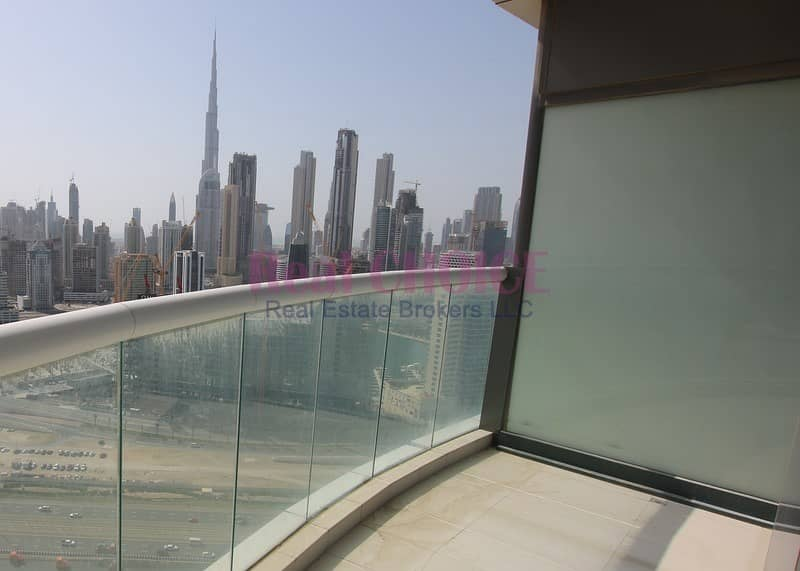 Fully Furnished New 3BR|Burj Khalifa and Canal