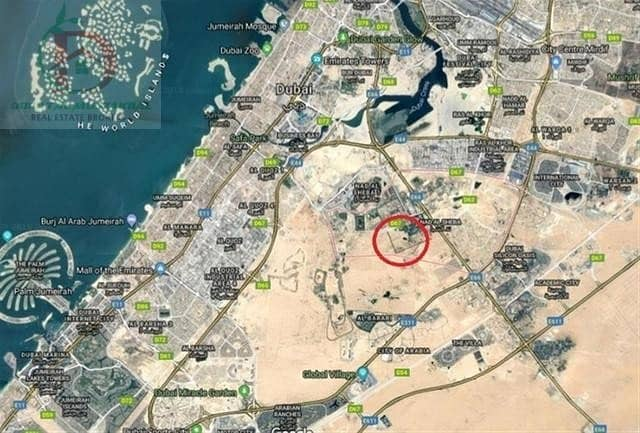 10 Lands for sale in Nad Al Shiba  Starting from 300 AED / SqFt