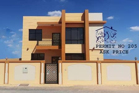 5 Bedroom Villa for Sale in Al Yasmeen, Ajman - personal build brand new villa for sale close to sheik ammar road