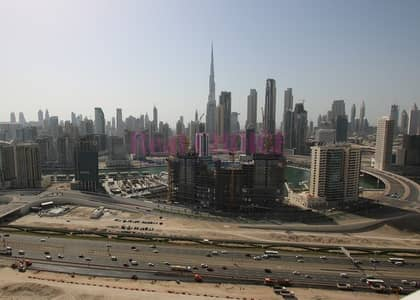 Full Canal and Burj Khalifa Views|Furnished New