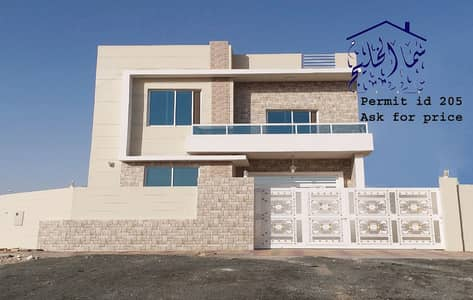 5 Bedroom Villa for Sale in Al Zahraa, Ajman - personal build brand new villa for sale close to sheik ammar road