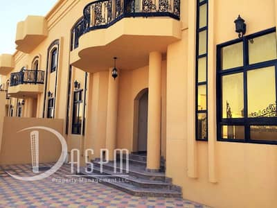 5 Bedroom Villa for Rent in Khalifa City A, Abu Dhabi - 5beds villa with private entrance 165k in kca
