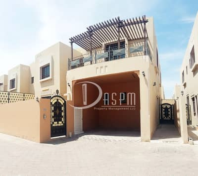 6 Bedroom Villa for Rent in Khalifa City A, Abu Dhabi - 6BEDS  DRIVER PRIVATE SWIMMING POOL 165K!