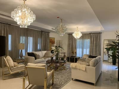 4 Bedroom Villa for Sale in Jumeirah Golf Estate, Dubai - 4 Yrs Payment Plan | Golf Facing Royal Golf Villas