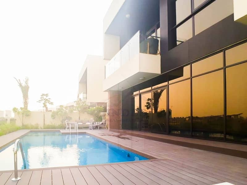 2 Fully Furnished 5BR+M+S Damac Paramount Villa