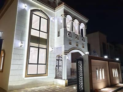 5 Bedroom Villa for Sale in Al Zahraa, Ajman - Own # Villa at # Excellent Price # Finishing_Super_Delux Excellent location owns 100% free for all n