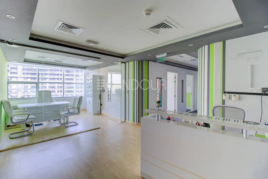 Price Negotiable | Large Layout Office| Near Metro