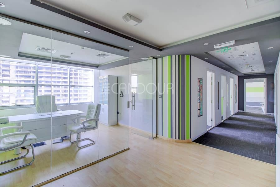 2 Price Negotiable | Large Layout Office| Near Metro