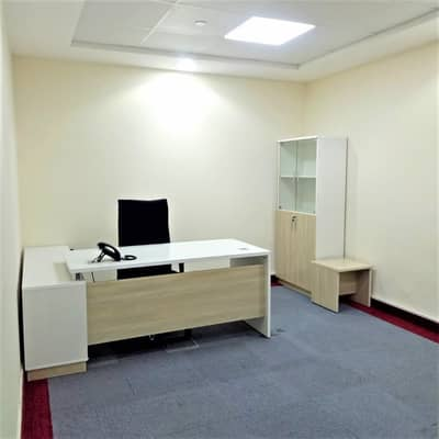 Office for Rent in Business Bay, Dubai - Fully Fitted Office | Cheapest Office | Burj Khalifa View | Business Bay