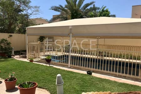 3 Bedroom Villa for Rent in The Springs, Dubai - Maintenance Contract - Pool - Springs