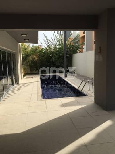 فیلا 4 غرفة نوم للايجار في الطريق الشرقي، أبوظبي - Modern and Prestigious 4BR Villa with Private Pool for Rent