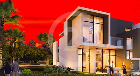 3 Bedroom Villa for Sale in Akoya Oxygen, Dubai - Live the luxury 3 bedroom townhouse in Dubai land