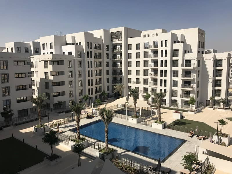 Ready to move in 3BR Zahra with Pool view at Town Square