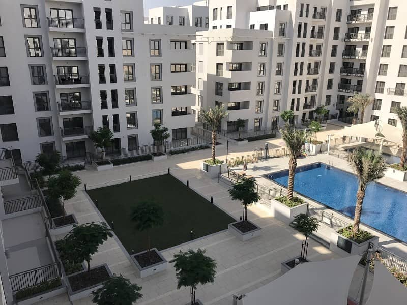 13 Ready to move in 3BR Zahra with Pool view at Town Square