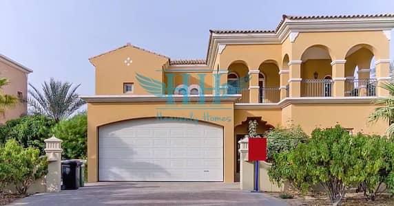تاون هاوس 5 غرفة نوم للايجار في المرابع العربية، دبي - Large Plot I Golf Course Facing 5BR Villa with Maids I Arabian Ranches