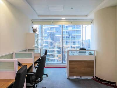 Office for Rent in Business Bay, Dubai - Furnished Office Space| With Executive Furniture's |Dedicated Landline
