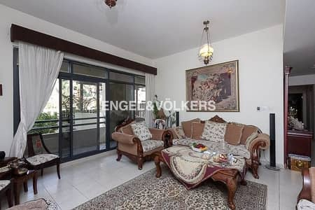 3 Bedroom Apartment for Rent in The Greens, Dubai - Big Private Courtyard | Upgraded Kitchen