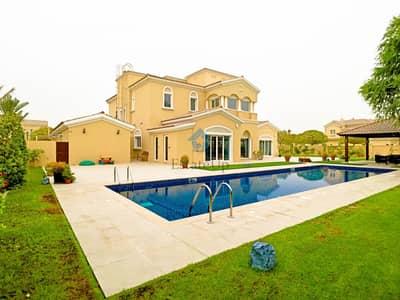 5 Bedroom Villa for Rent in Arabian Ranches, Dubai - Corner 5 BR Villa | Upgraded | Furnished