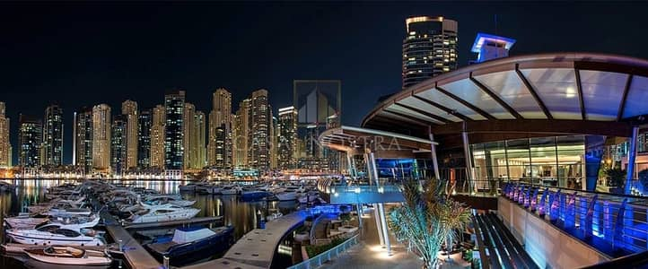 Shop for Sale in Dubai Marina, Dubai - Affordable  Large Restaurant with Shisha licence and Direct marina views