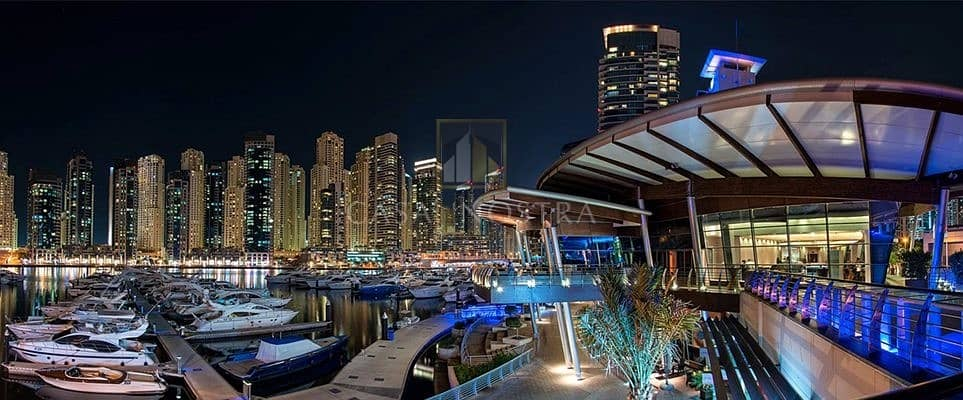 Affordable  Large Restaurant with Shisha licence and Direct marina views