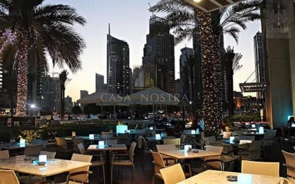 2 Affordable  Large Restaurant with Shisha licence and Direct marina views