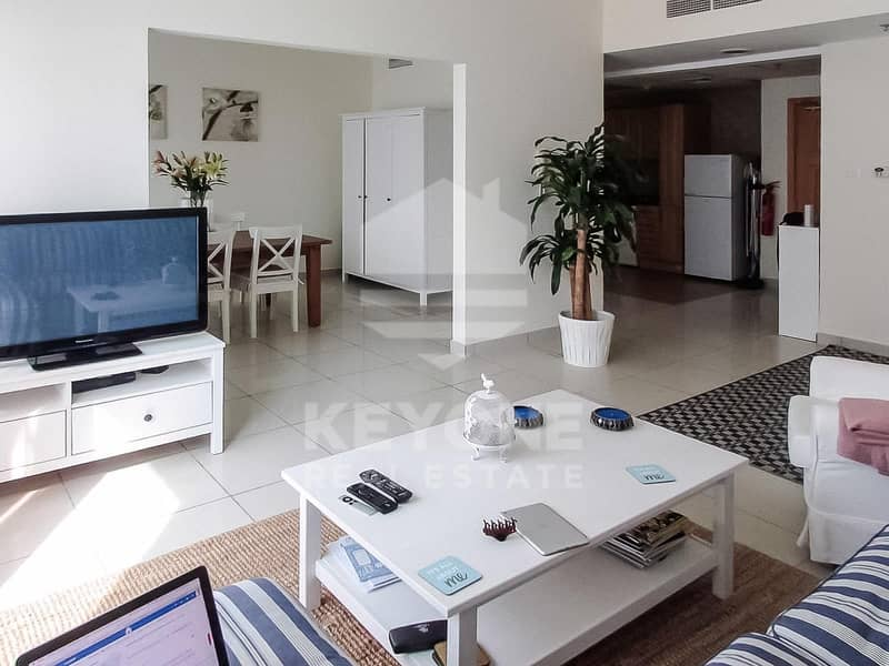 Dubai Arch | Furnished 3BR | Partial Sea View