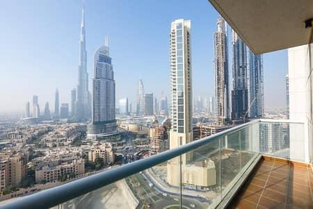 2 Bedroom Flat for Rent in Downtown Dubai, Dubai - 2BR-Burj Al Nujoom