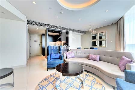 2 Bedroom Apartment for Rent in Downtown Dubai, Dubai - 2 Bedrooms   Fully Furnished   High Floor